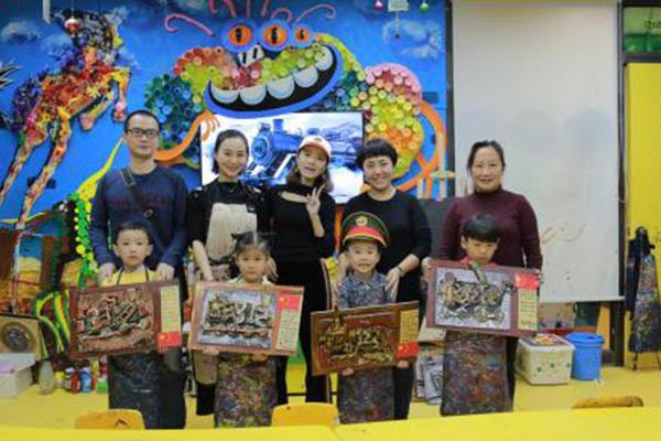 杨梅红少儿美术是一个非常值得加盟的好品牌